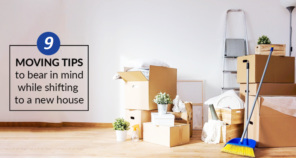 9 Moving Tips to Make Your Move Easier and Hassle Free