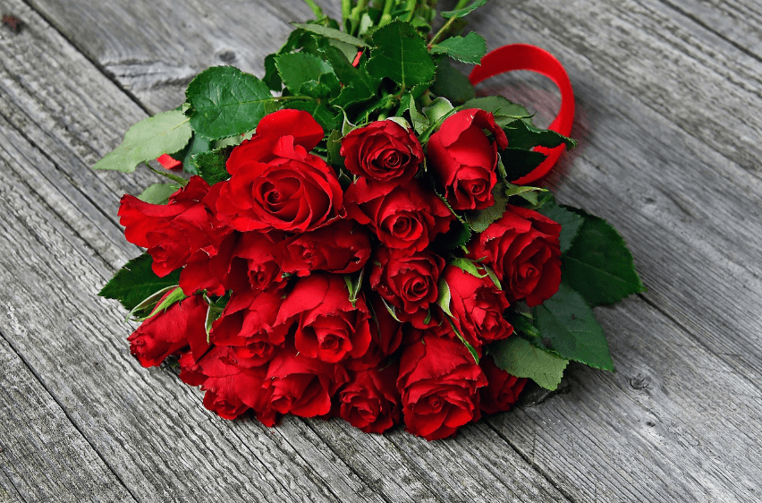 How and Whom to Give Red Flowers
